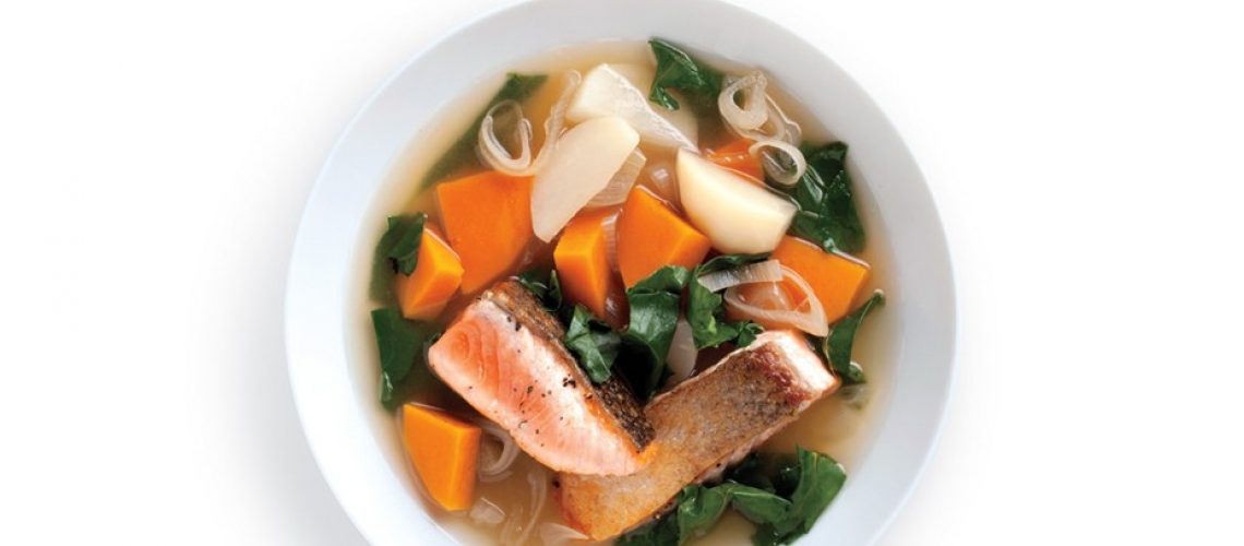 seared-salmon-with-winter-vegetables-and-kombu-broth